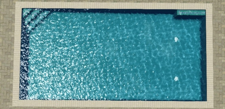 Sterling Pool Template - Rectangle